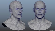 WrapX - Scan Head Retopology - Fast Way to Keep Clean Edge Flow for Facial Animation This tutorial shows how can you retopology fast a scan data. WrapX is a perfect tool. I used my textured base head to transfer and wrap his geometry to scan head
