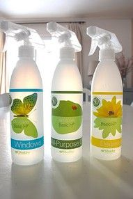 This looks like a genuinely awesome itemShaklee.  Natural cleaners.