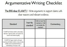 checklist for writing an effective essay
