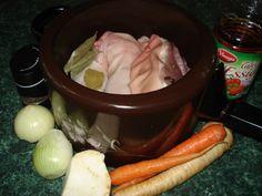 Domácí sulc – Svět dobrého jídla Sausage, Cooking Recipes, Food, Sausages, Chef Recipes, Essen, Meals, Yemek, Eten