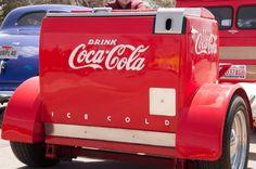 Cars, Automobiles, Street Rods, Coca-Cola, trailer