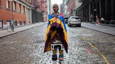 South African artist Esther Mahlangu, 80, pushes boundaries to preserve her Ndebele culture.