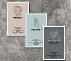 Star Wars Trilogy Print Set