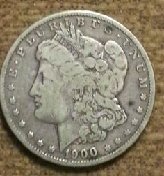 1900 O MORGAN SILVER DOLLAR UNITED STATES COIN 1900 O