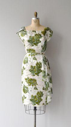 Clowesia dress vintage 1960s dress floral print 60s by DearGolden