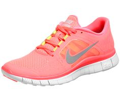 Nike Free Run 3. So cute running shoes! If I had these, I bet I could run faster! :)