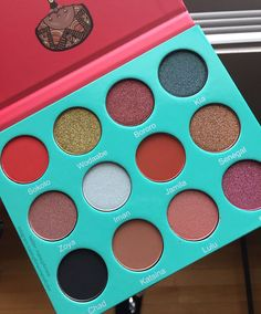 XOXO: Sarahan Palette from Juvia's Place