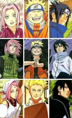 Naruto and his amazing friends and family  I love them so much  like u dont even understand  wait maybe u do