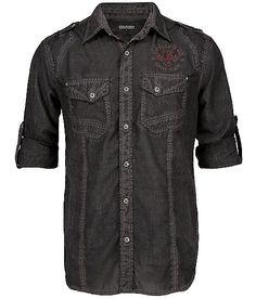 Affliction Black Premium Point Break Shirt