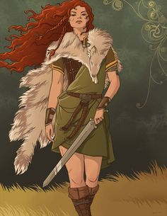 """Scáthach is a figure in the Ulster Cycle of Irish mythology. She is a legendary Scottish warrior woman and martial arts teacher who trains the legendary Ulster hero Cú Chulainn in the arts of combat. Texts describe her homeland as Scotland (Alpae); she is especially associated with the Isle of Skye, where her residence Dún Scáith (Fort of Shadows) stands. She is called """"the Shadow"""" and """"Warrior Maid"""" and is the rival and sister of Aífe, both daughters of Ardgeimme"""