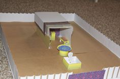 One family's paper Tabernacle model with link to free download for your own paper model.