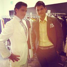 Rob Kardashian and Scott Disick, <3  Gotta love the suits... Swag
