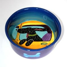 Image result for pet bowls ceramics cats dogs hendricks