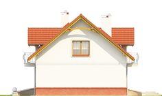 Elewacja Mój dom Dla Ciebie 1 B bez garażu CE