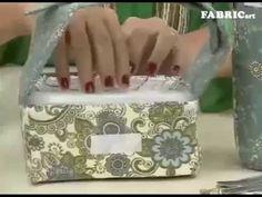 Passo a passo - Marmita Térmica - Artesã Solange Adam - YouTube