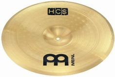 """Meinl 12 Inch HCS China by Meinl Percussion. $27.99. The 12"""" Meinl HCS China has an explosive, brash and bright attack with deep, dark and trashy undertones.  The MEINL HCS cymbal set-ups and individual cymbals are an entry level cymbal line that combine quality and value.  They are made from MS63 alloy for a warm, harmonic and balanced sound.  They offer the best possible sounds at an affordable price.. Save 46% Off!"""