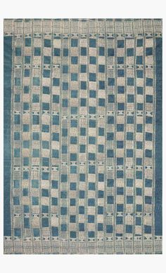 MIK-08 BLUE / IVORY | Loloi Rugs