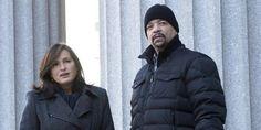 Mariska Hargitay AKA Sargant Benson and ICE T AKA Detective Fin Tutuola