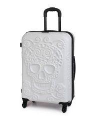 it Luggage Skulls Hardshell 4-wheel Case - Medium, White