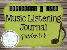 This is a subscription to a school year's worth of music listening and journaling mini-lessons.  Please note that not all lessons are posted at this time, see the preview for release dates.  Once you purchase this product, you will need to check back periodically for the updates.