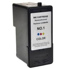 Remanufactured Lexmark No 1 ( 1 / ) Colour Ink Cartridge for Lexmark Printers 18C0781 - This professionally remanufactured ink Cartridge has been produced using a recycled Lexmark original cartridge. Every Cartridge is cleaned thoroughly, refilled, and print tested to ensure you achieve a high standard of print, time after time.  - http://ink-cartridges-ireland.com/remanufactured-lexmark-no-1-1-colour-ink-cartridge-for-lexmark-printers-18c0781/ - 18C0781, cartridge, Colour, F