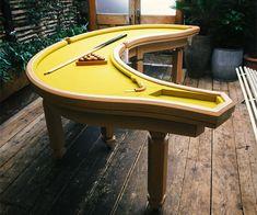 Banana Shaped Pool Table | CoolShitiBuy.com