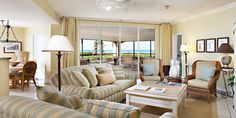 The Sands at Grace Bay: Suites are great for families, with full kitchens, large living rooms and private balconies.