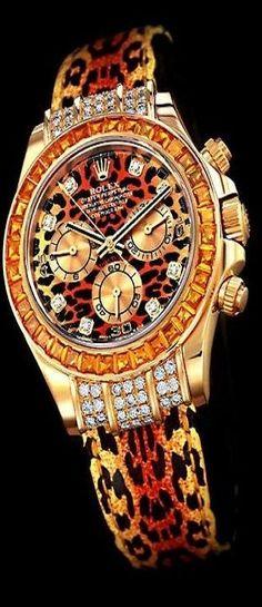 Rolex - Leopard |!c beauty bling jewelry fashion