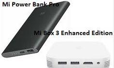 Powerbank di Qualità e Prezzi Vantaggiosi | Xiaomi Lancia Mi Powerbank Pro e Mi Box 3 Enhanced Edition