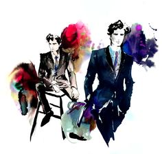 Amelie Hegardt #mensfashionillustration