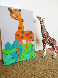Art projects for kids: Modelling Clay Pictures via Childhood 101. A great activity for children of all ages and fabulous for fine motor skill development - click through for more details.