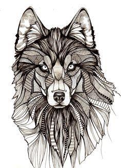Wolf mandala tattoo - Pesquisa Google