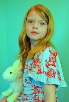 Paper Wings Alice in Wonderland Dress
