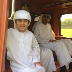 محمد بن منصور مع السيد حميد النيادي الي مدينه العين - @mmbinrashid- #webstagram