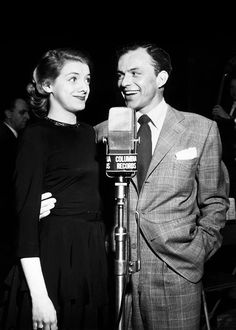 Rosemary Clooney and Frank Sinatra