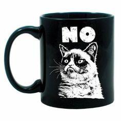 Amazon.com: Grumpy Cat No Mug: Kitchen & Dining
