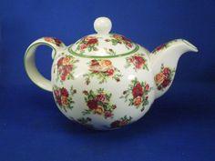 Vintage Royal Albert Old Country Roses Pattern Tea Pot Teapot | eBay