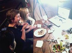 BTS  Patxi's Pizza San Francisco live streaming VeganKitchen.TV