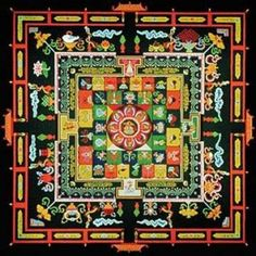 Mandala-Tibetan