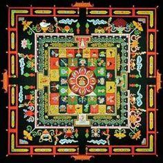 Quadrado  Símbolo da matéria e da passividade. Seus lados representam os elementos da natureza (água, fogo, terra e ar) ou os quatro pilares da sabedoria humana (ciência, religião, filosofia e arte).