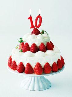 【ELLE a table】10周年記念のいちごショートケーキレシピ|エル・オンライン
