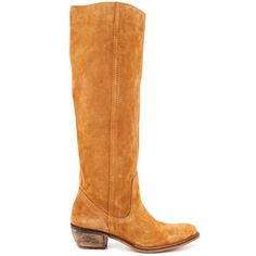 Diba Women's Pro Gress - Cognac Cow Suede and other apparel, accessories and trends. Browse and shop 4 related looks. Diba Boots, Kids Ugg Boots, Yellow Heels, Designer Shoes, Cowboy Boots, Riding Boots, Uggs, Shoe Boots, My Style
