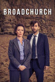 Broadchurch - Olivia Colman & David Tennant - BBC