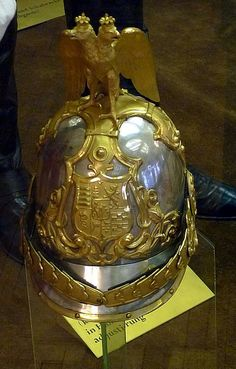 Hungarian Guards trumpeter's helmet   kitchener.lord   Flickr