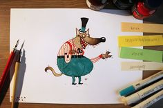 Daily Character Drawings XI on Behance