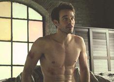 Charlie Cox, Daredevil......aka my future husband. Just sayin.