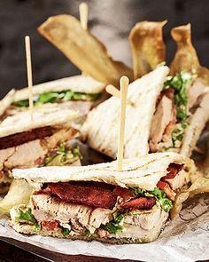 Oito sanduíches para matar a fome no meio da tarde