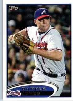 2012 Topps Baseball Card #305 Chipper Jones - Atlanta Braves - MLB Trading Card by Topps. $1.82. 2012 Topps Baseball Card #305 Chipper Jones - Atlanta Braves - MLB Trading Card