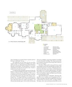 designnewengland, floorplan of the almost perfect house of future!