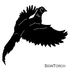 Pheasant silhouette | Craftiness | Pinterest | Pheasant ...